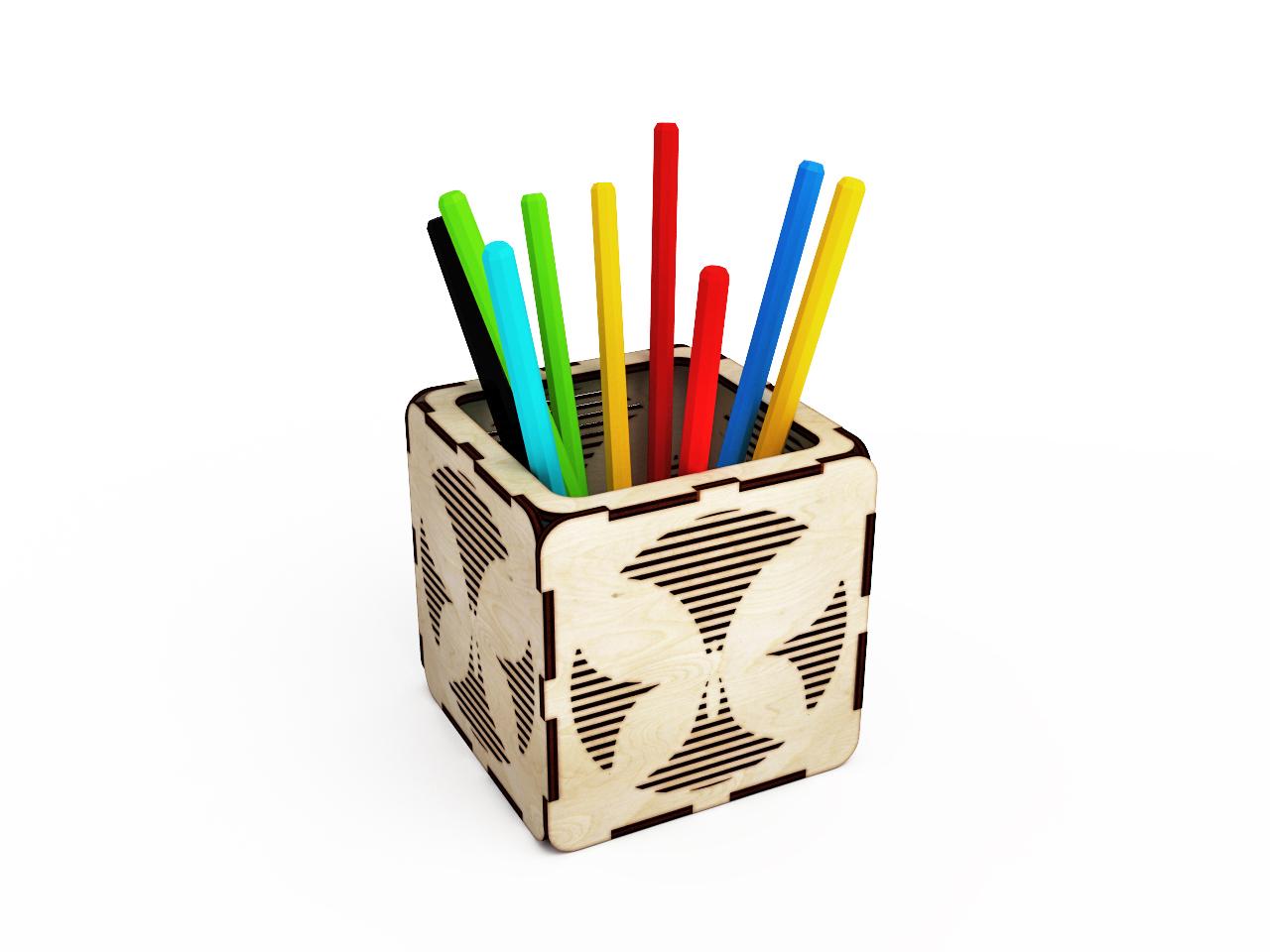 Подставка из карандашей