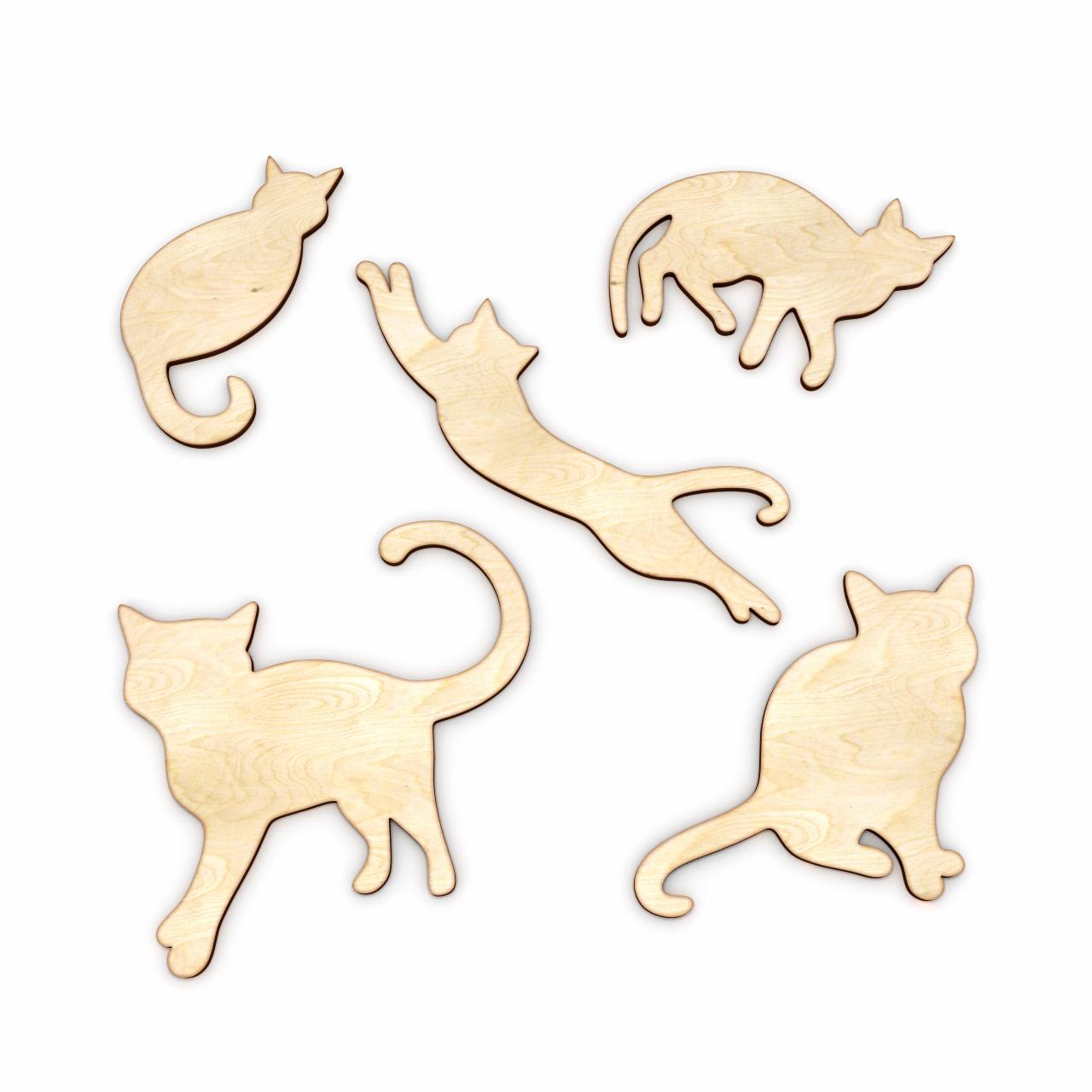 Кошка из фанеры своими руками чертежи