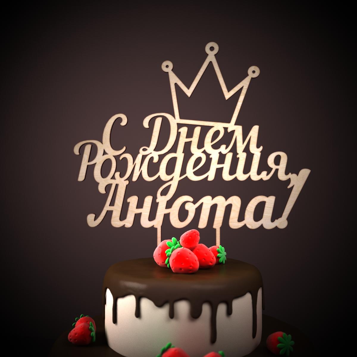 Прикольные поздравления с днем рождения аня