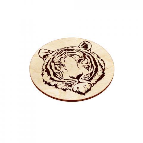подставка под кружку тигр